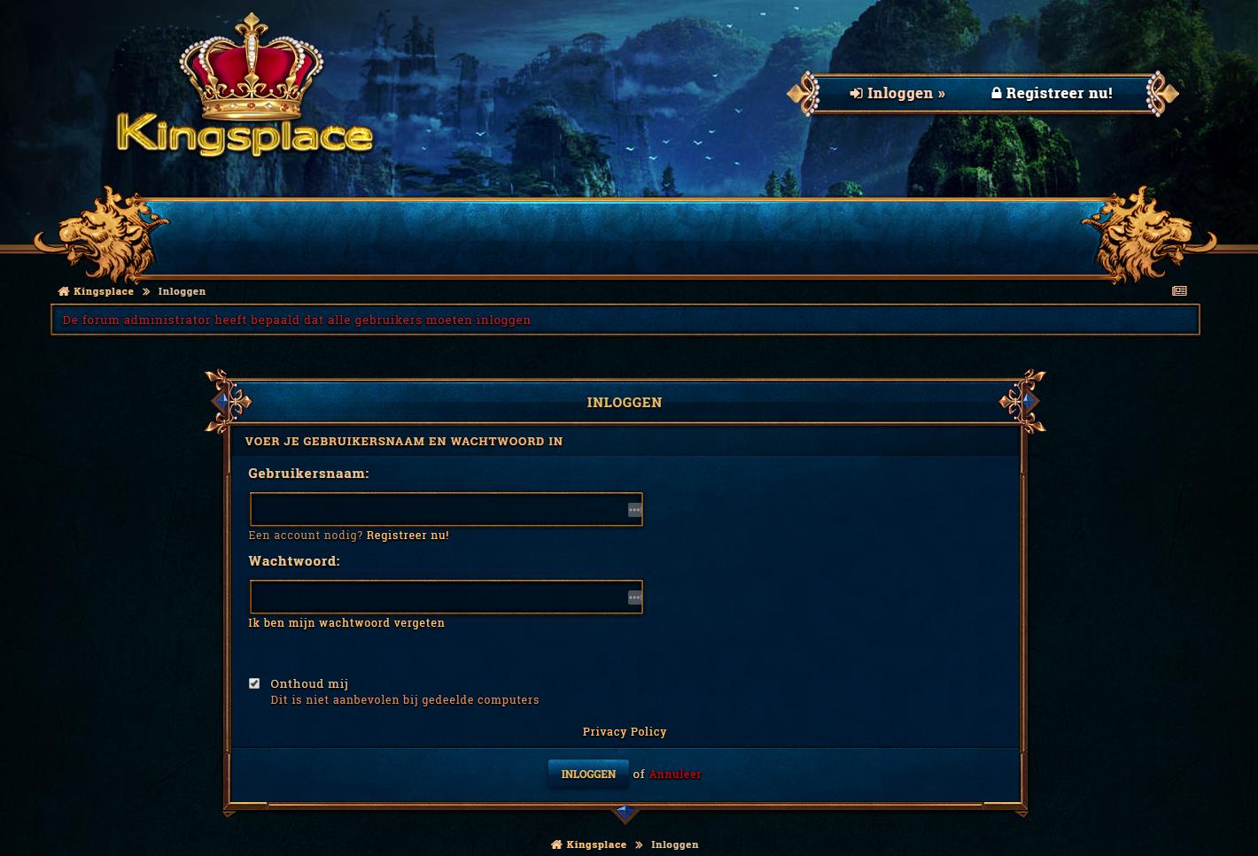 http://kingsplace rocks offline - Downloaden via Nieuwsgroepen