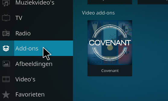 how to download covenant for kodi on a mac
