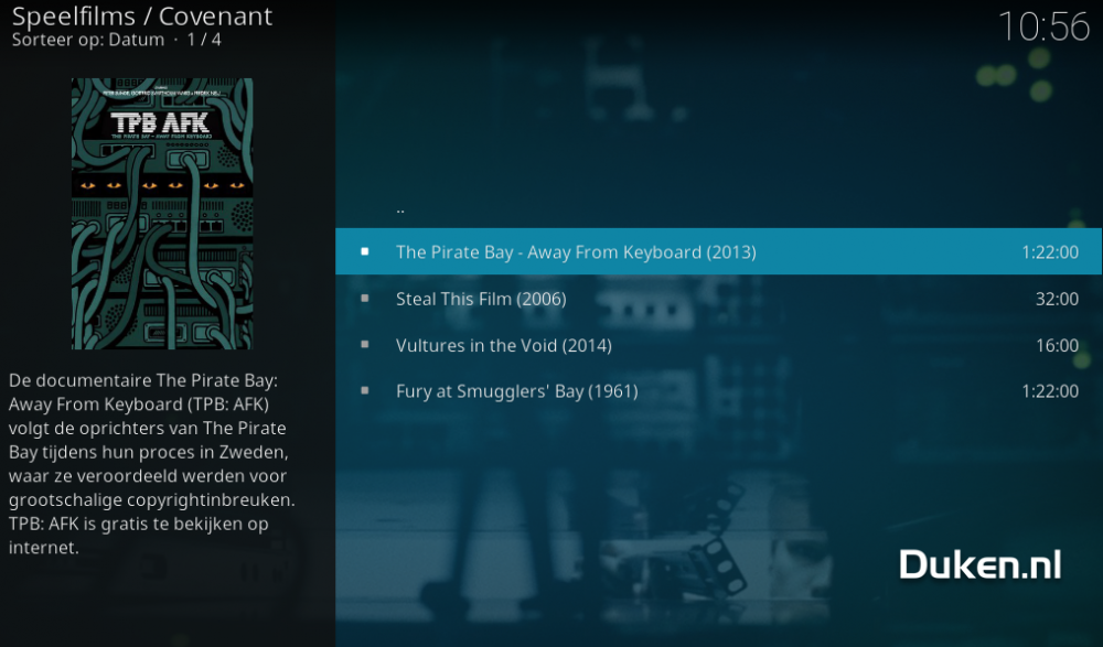 how to download movies from kodi covenant