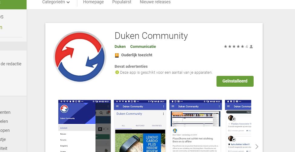 Maak kennis met onze nieuwe Duken.nl app