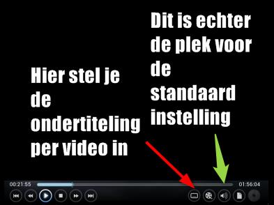 Kodi ondertiteling Synchroniseren