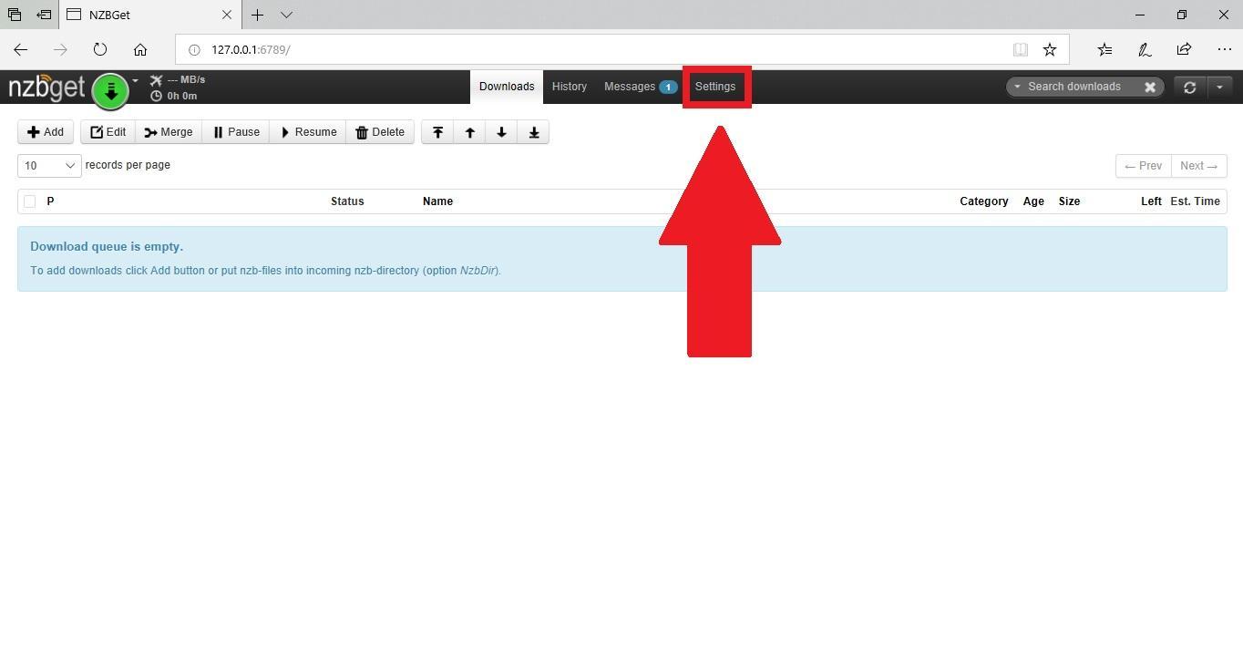 Downloaden met NZBget - Downloaden - Duken nl